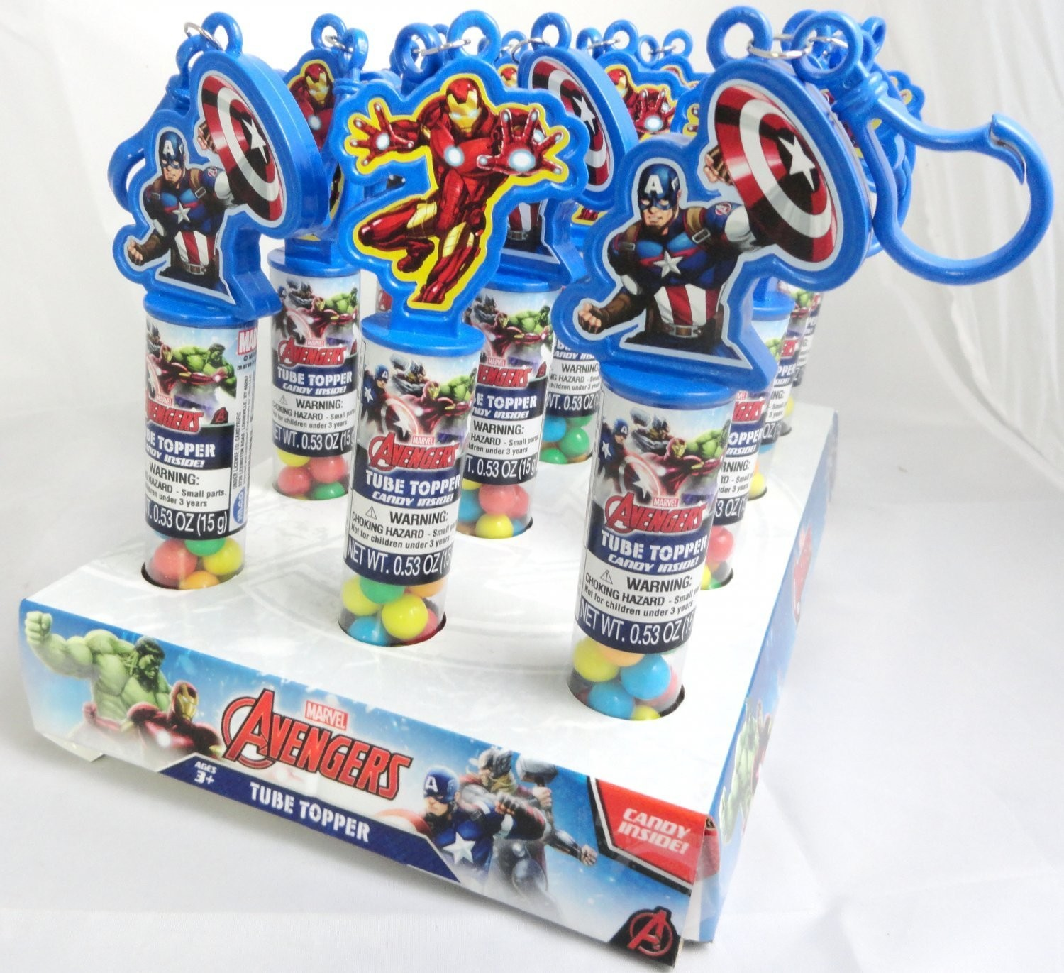 Marvel Avengers Marvel Avengers Collectible Tube Topper with Key Chain