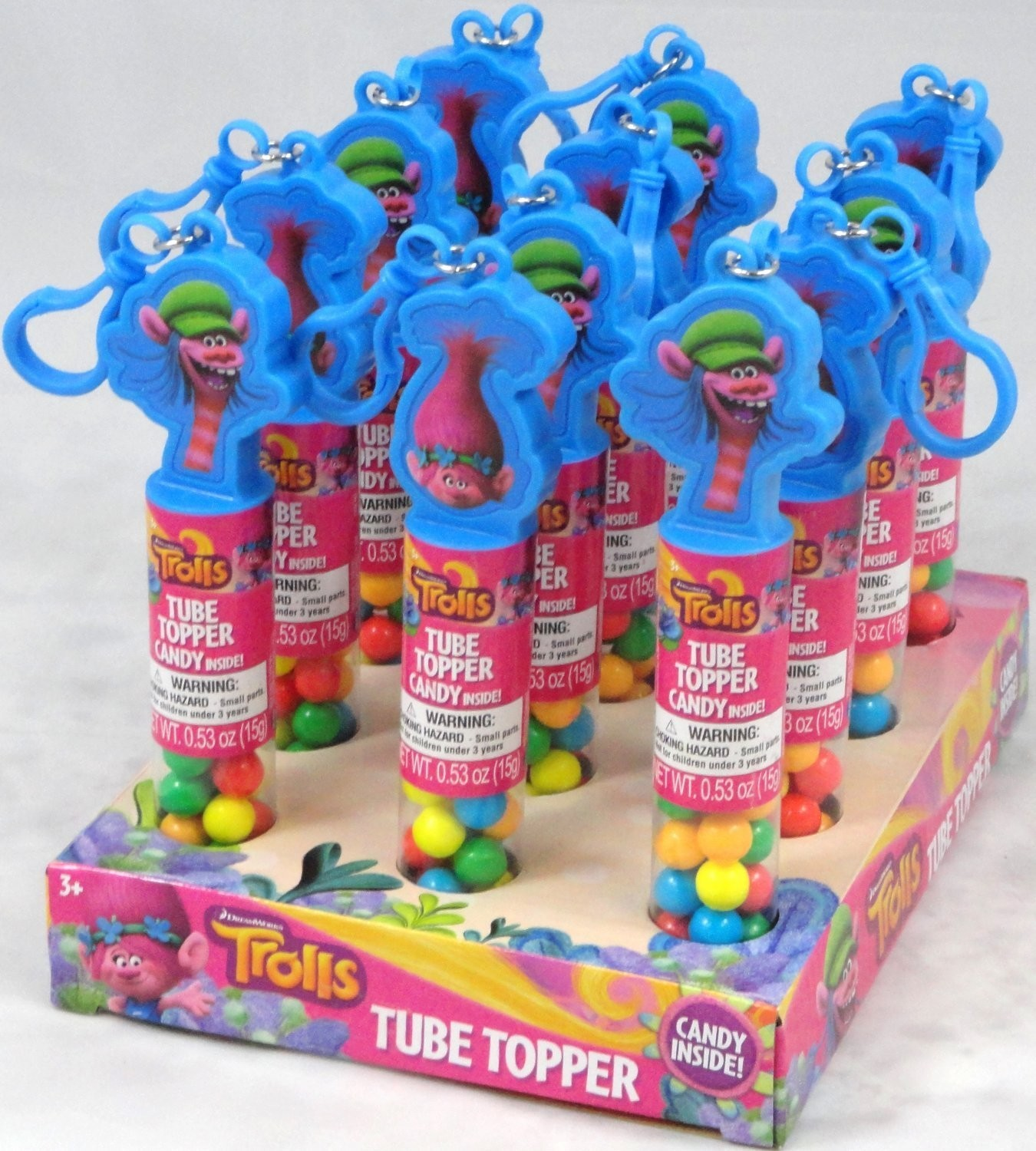 Dreamworks Trolls Trolls Collectible Tube Topper