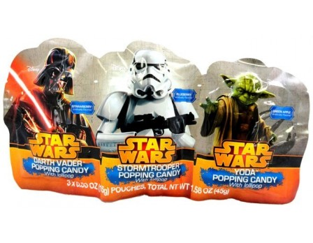 Star Wars Star Wars 3Pk. Popping Candy