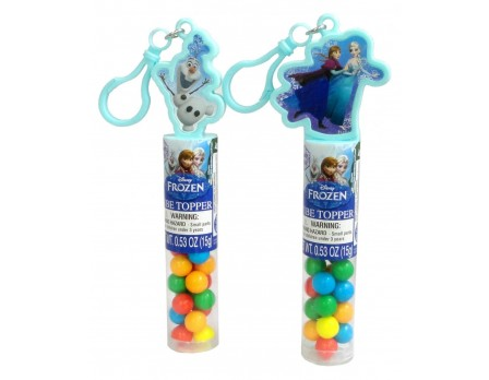 Disney Frozen Collectible Tube Topper with Key Chain