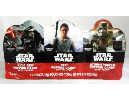 Star Wars Star Wars Episode 7 3Pk. Popping Candy